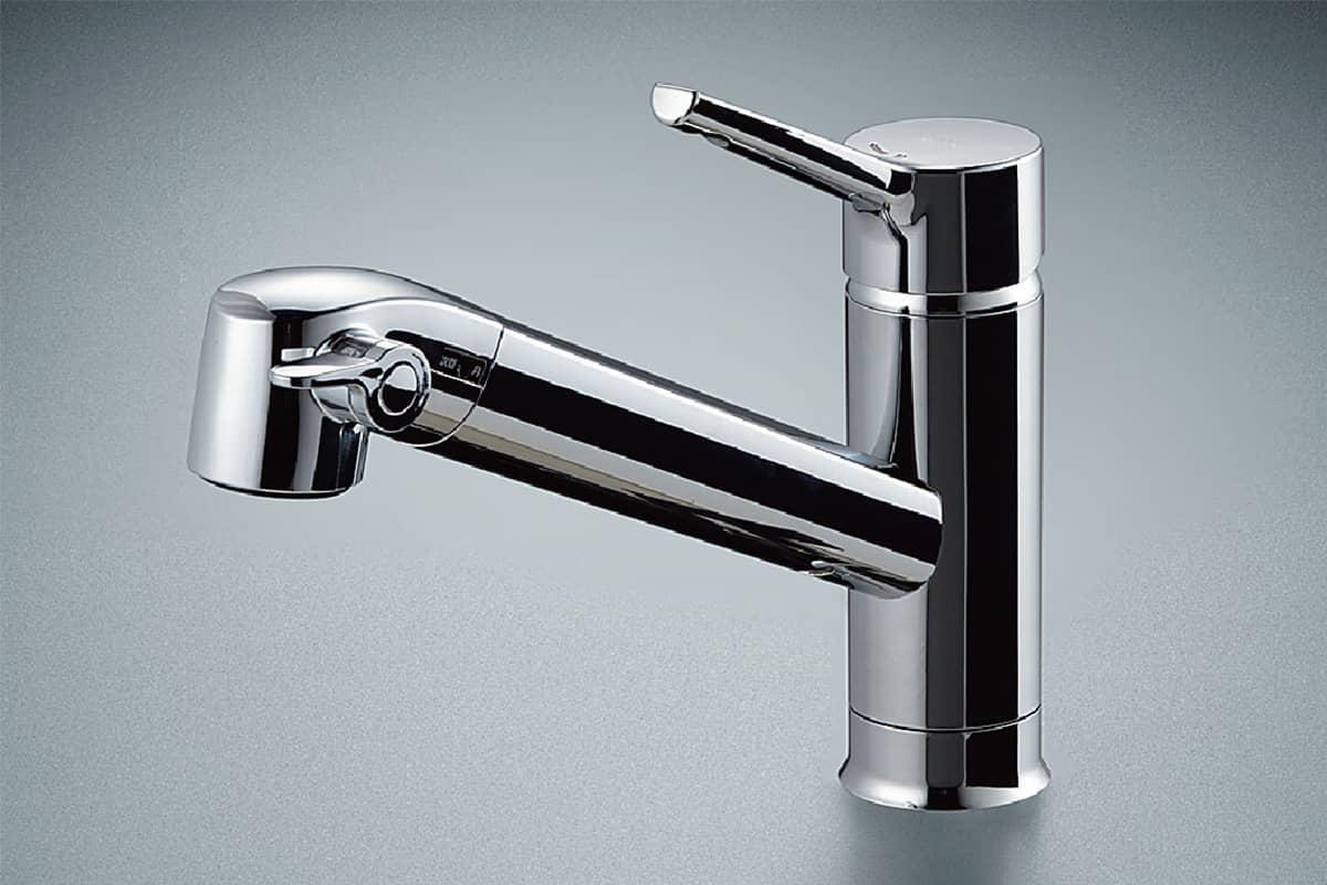 水栓『浄水器内蔵シングルレバー水栓』